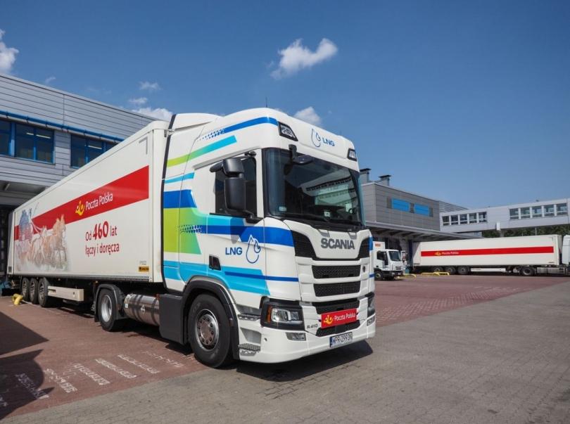 d81e760a682e43 Poczta Polska testuje ciągnik Scania LNG