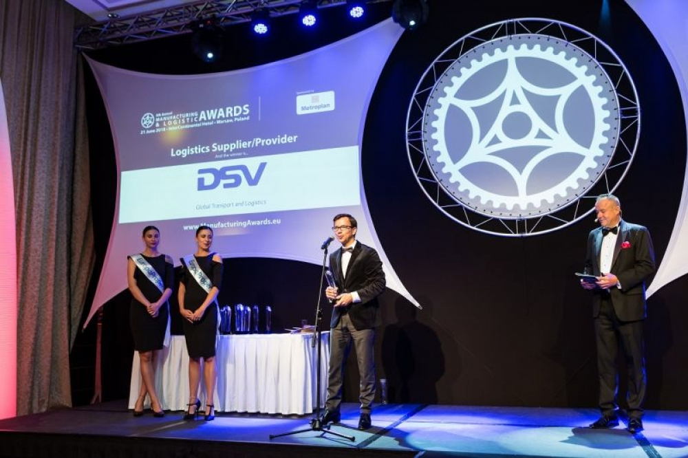 Tytuł Logistics Provider of the Year dla DSV